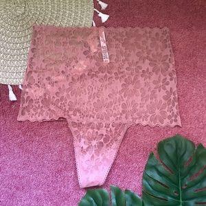 Victoria's Secret No Show High Waist Thong Panty